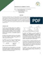 Informe 5, Propiedades de Los Aldehidos y Cetonas