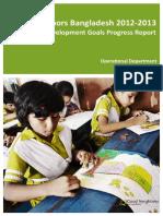 GNB 2012 2013 Millennium Development Goals Progress Report