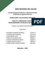 Itesa s.a.c. Fabricacion y Ventas de Transformadores Electricos de Distribucion.....