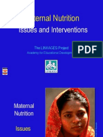 Maternal Nutrition Power Point