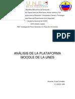 Analisis Moodle