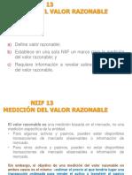NIIF 13 Valor Razonable Alumnos