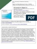 DeBruin_1973_Diffusion Correlation Effects in Nonstoichiometric