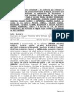 Citacion Para Comparecer a Audiencia Referimiento Sucs. Carmen Rodriguez vs Los Cabral p. 216 Dc. 2 Nagua (Aud. 01 Marzo 2018)