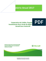 Balanco e Demonstracoes Financeiras - Sicredi Ouro Verde 2017