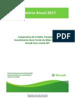 Balanco e Demonstracoes Financeiras - Sicredi Ouro Verde 2017