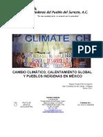 """""""Cambio Climático, Calentamiento Global y Pueblos Indígenas en México"""""""