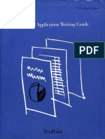 PenPoint Application Writing Guide March 1992