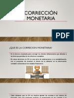 Correcion monetaria