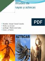 Trabajo Isma Inca Maya Aztecas