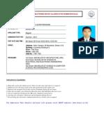 Admit Card Md. Hasibul Alom Faruquee 8808241864