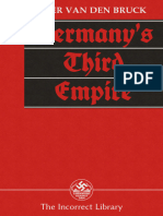 (the Incorrect Library) Arthur Moeller Van Den Bruck-Germany's Third Empire-George Allen and Unwin (1934)