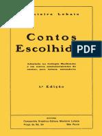 Contos Escolhidos Monteiro Lobato [1923]