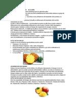 Beneficios Para La Salud de La Piña