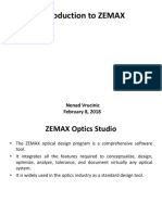 Introduction to ZEMAX