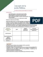 Característica de Las Administraciones Púbicas