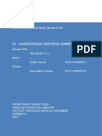 Laporan P1 Karakteristik Spektrum Giffari Muslih (02311745000021)(1)