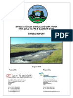 Appendix D4 Design Report and Hydrological Report