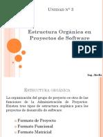 Estructura Organica de Proyectos de Software