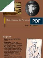 Alvaro de Campos Resumo