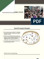 Ecuador Economic State
