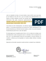 Solicitud donación Francisco Navarrete