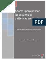 Documento Sobre Secuencia Didáctica Para Docentes- Febrero 2014 (1)
