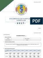 Documentos de Planificación 2017 - 2018