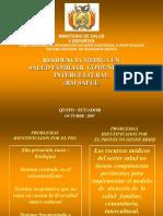 Modelo Salud Familiar Comunitario Intercultural-Bolivia-Marco Valencia