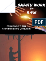 RME Safety Work for RME
