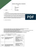 Programaciòn Curricular Anual de Comunicaciòn 2014
