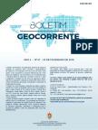 Boletim Geocorrente 67 23FEV2018