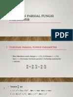 3 - Turunan Parsial Fungsi Parameter