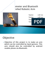 Accelerometer Robotic Arm