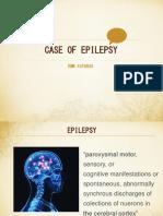 Case of Epilepsy