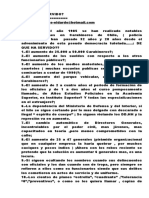 ¿DE QUE HAN SERVIDO? la inmensas inversiones que ha hecho el Estado en Carabineros de Chile?