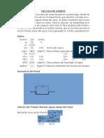 Practica Cálculo de Azudes