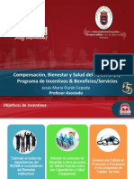Sesión 09. Compensación, Bienestar y Salud Del Personal (II). Programa de Incentivos & Beneficios - Servicios