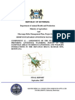 ODMP Sustainable Livestock management - Watering points Final Report