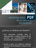 Aspectos Generales de La Gestión Energética