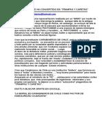 CARABINEROS DE CHILE ES UN SERVICIOS DE TRAMPAS Y CARETAS