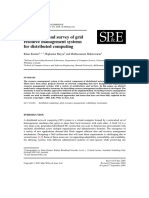 A Taxonomy and Survey of Grid Resource Management Systems for Distributed Computing