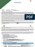 Programacion Anual PRIMERO SEC. 2018
