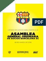 PADRÓN DE SOCIOS HABILITADOS 28 marzo 2018