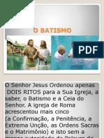 Batismo Na BibliaS