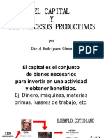 Capital y Procesos Productivos