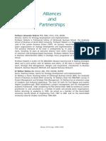 Alliances and Partnerships