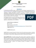 TRE BA 2018 3 Pregao Eletronico 10 2018 Projetos de Reforma Da Sede Do Tre Ba