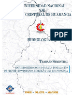 Informe Semestral de hidrologia