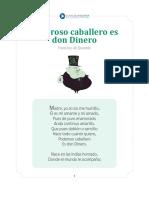 Don Dinero Poema